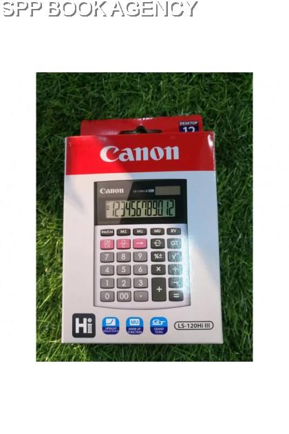 CALCULATOR CANON LS-120 HI III