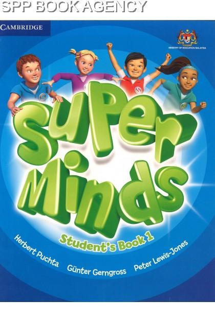 BUKU TEKS SUPER MINDS STUDENT BOOK 1