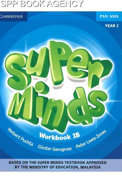 BUKU TEKS SUPER MINDS WORKBOOK 1B YEAR 2