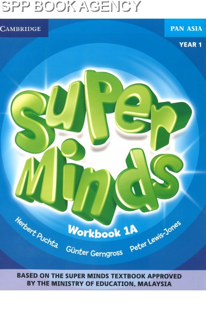 BUKU TEKS SUPER MINDS WORKBOOK 1A YEAR 1